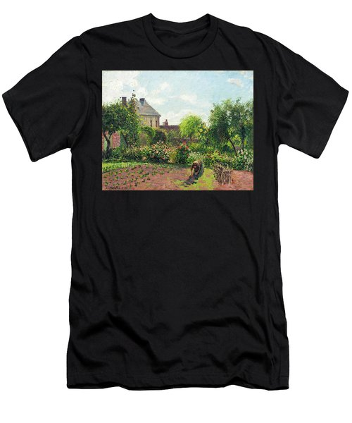 The Artist's Garden At Eragny Men's T-Shirt (Athletic Fit)