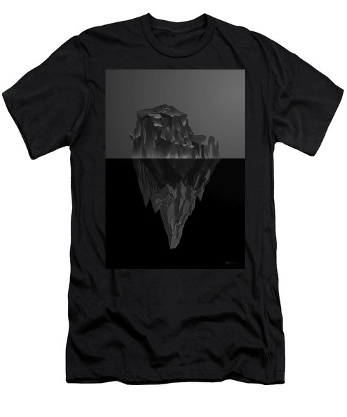 The Black Iceberg Men's T-Shirt (Athletic Fit)