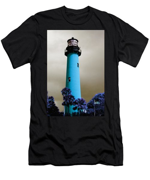 The Blue Lighthouse Men's T-Shirt (Athletic Fit)