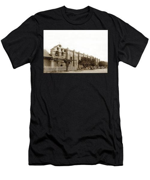 The Campanario, Or Bell Tower Of San Gabriel Mission Circa 1890 Men's T-Shirt (Athletic Fit)