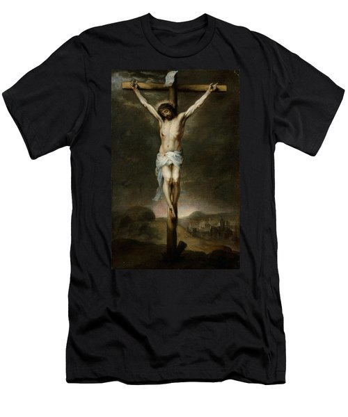 The Crucifixion Men's T-Shirt (Athletic Fit)