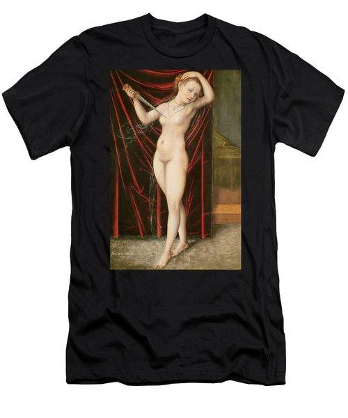The Death Of Lucretia Men's T-Shirt (Athletic Fit)