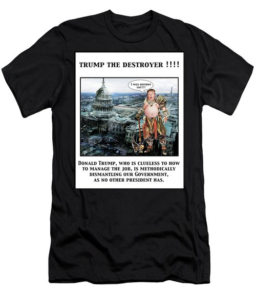 The Destroyer  Men's T-Shirt (Athletic Fit)