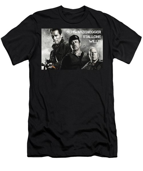 The Expendables 2 Men's T-Shirt (Athletic Fit)