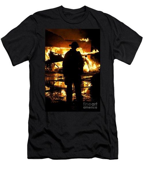 The Fireman Men's T-Shirt (Athletic Fit)