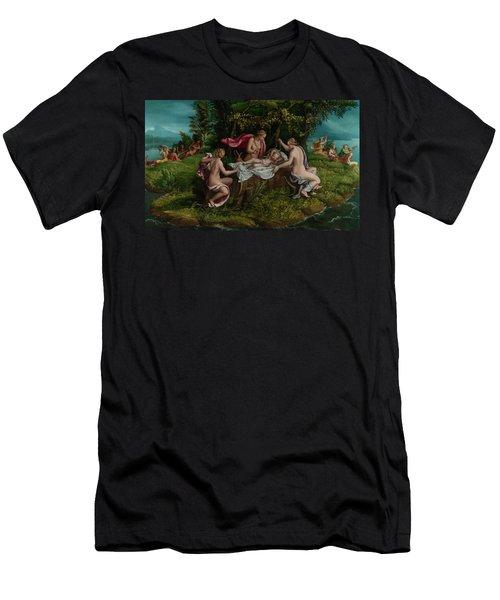The Infancy Of Jupiter Men's T-Shirt (Athletic Fit)