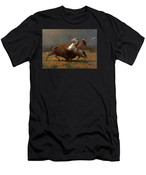 The Last Of The Buffalo Men's T-Shirt (Athletic Fit)