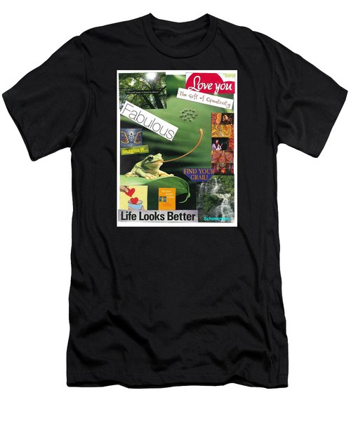 The Magic Of Life Men's T-Shirt (Athletic Fit)