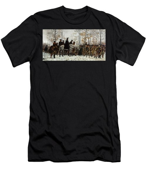 The March To Valley Forge Men's T-Shirt (Athletic Fit)