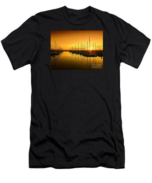 The Marina Men's T-Shirt (Athletic Fit)
