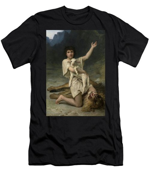 The Shepherd David Triumphant Men's T-Shirt (Athletic Fit)