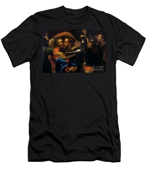 The Taking Of Christ Men's T-Shirt (Athletic Fit)