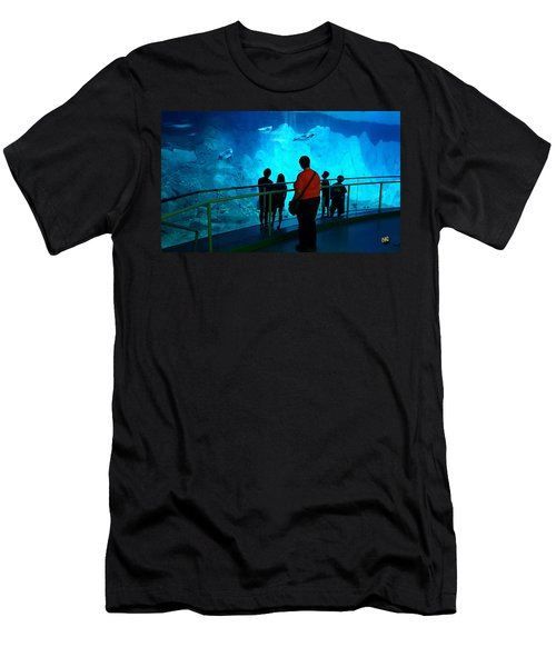 The View Down Under - 2 Men's T-Shirt (Athletic Fit)