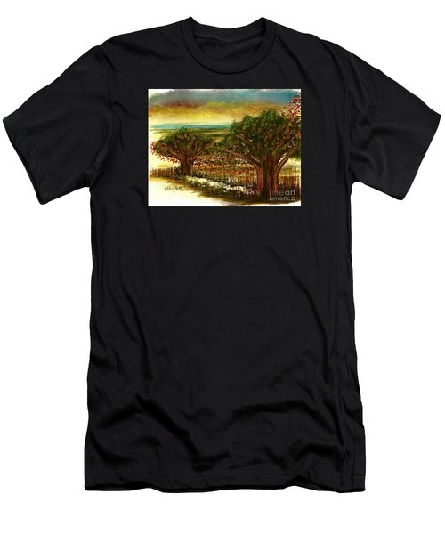 The Voices Of The Wind Men's T-Shirt (Athletic Fit)