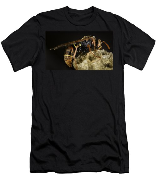 Men's T-Shirt (Athletic Fit) featuring the photograph The Wasp by Chris Cousins