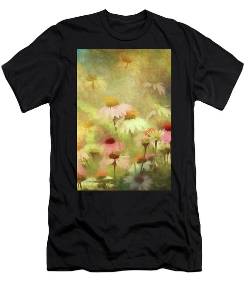 Thoughts Of Flowers Men's T-Shirt (Athletic Fit)