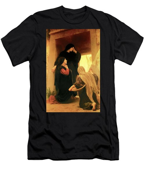 Three Marys At The Tomb Men's T-Shirt (Athletic Fit)