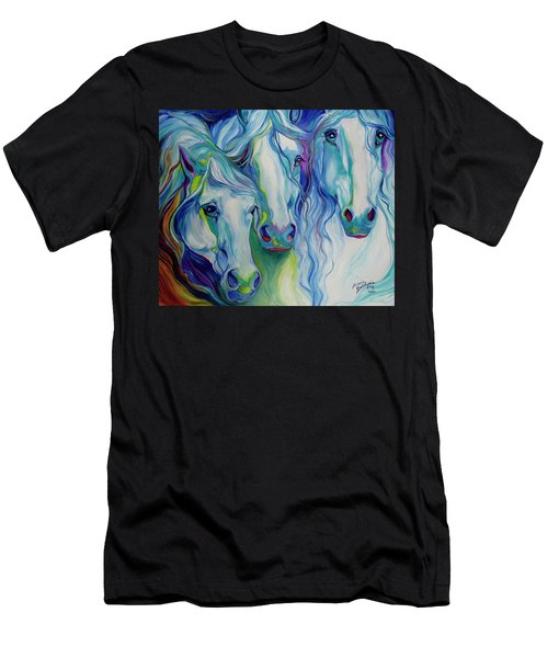 Three Spirits Equine Men's T-Shirt (Athletic Fit)