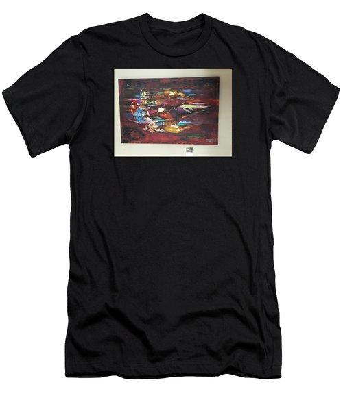 Thunder Men's T-Shirt (Athletic Fit)
