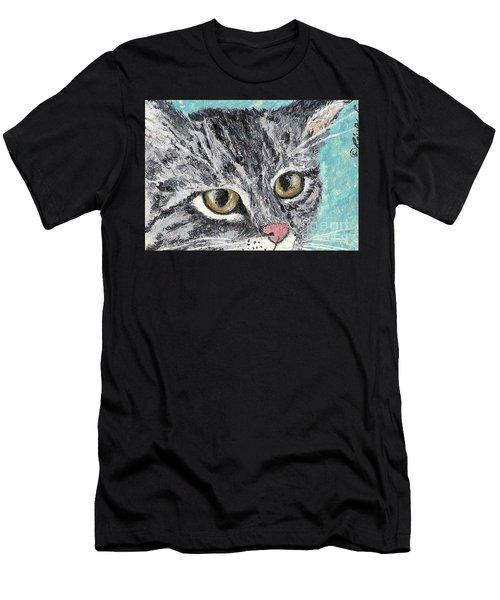 Tiger Cat Men's T-Shirt (Athletic Fit)