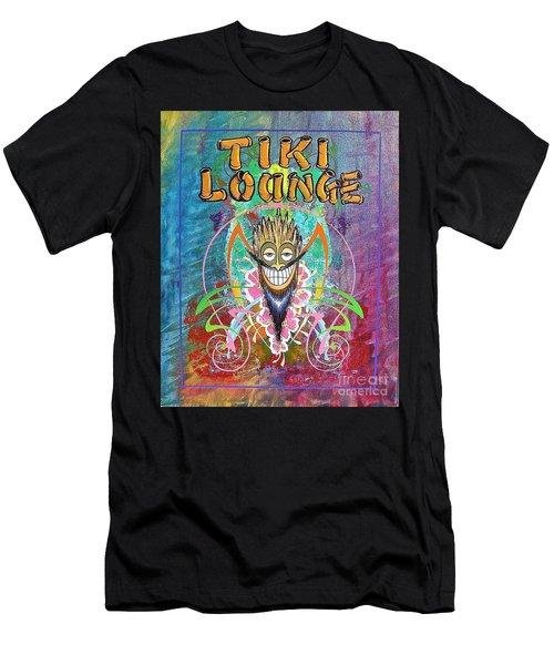 Tiki Lounge  Men's T-Shirt (Athletic Fit)