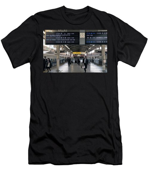 Tokyo To Kyoto, Bullet Train, Japan 3 Men's T-Shirt (Athletic Fit)