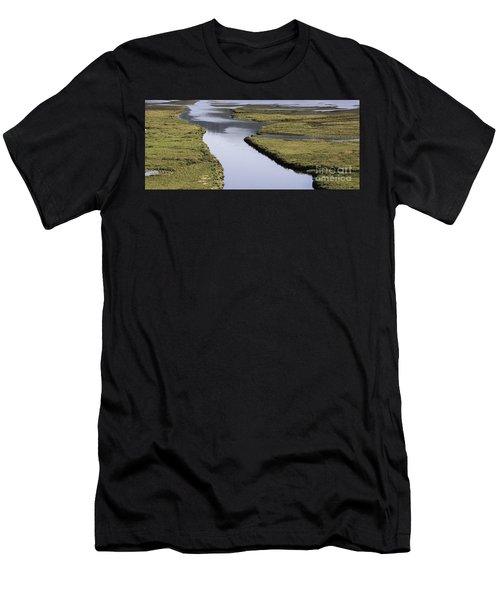 Tomales Marsh Men's T-Shirt (Athletic Fit)