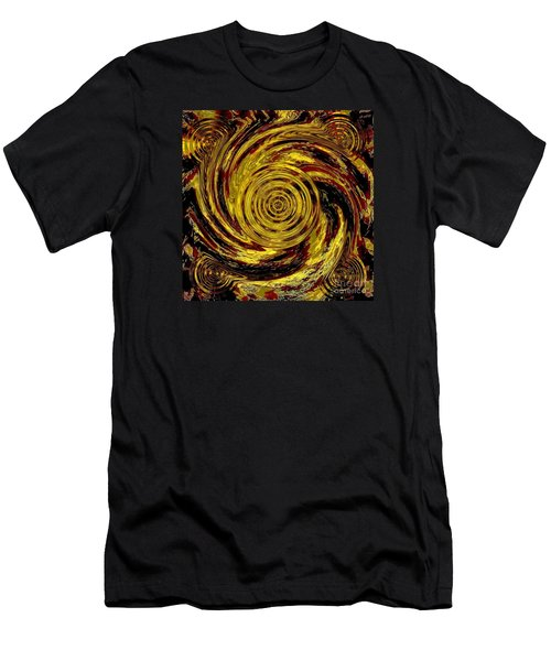 Total Water Swirl Effect Men's T-Shirt (Athletic Fit)