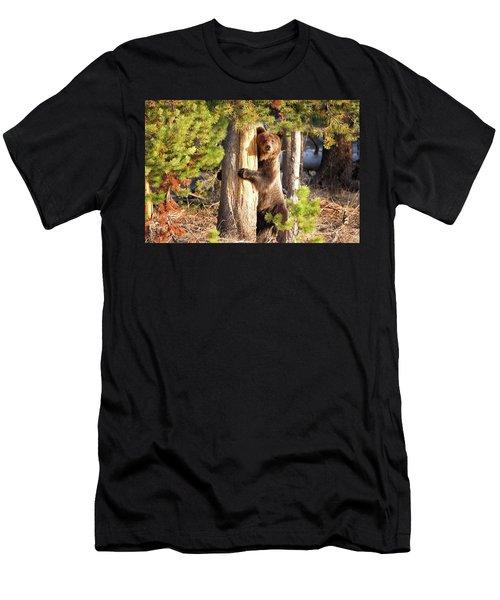 Tree Hugger Men's T-Shirt (Athletic Fit)