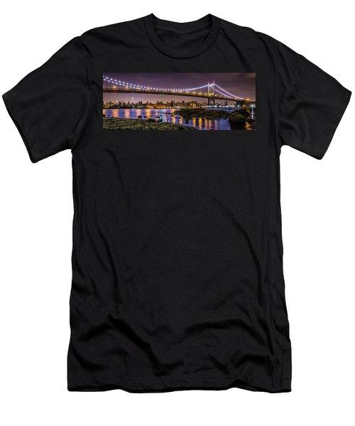 Triboro Bridge Men's T-Shirt (Athletic Fit)