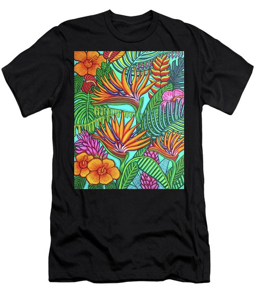 Tropical Gems Men's T-Shirt (Athletic Fit)