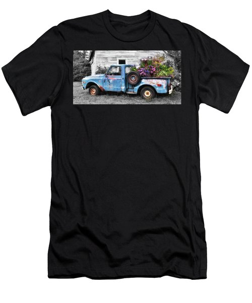 Truckbed Bouquet Men's T-Shirt (Athletic Fit)