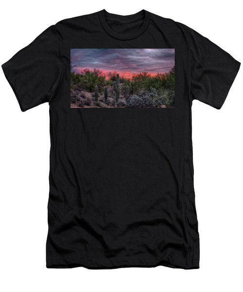 Tucson Sunset Men's T-Shirt (Athletic Fit)