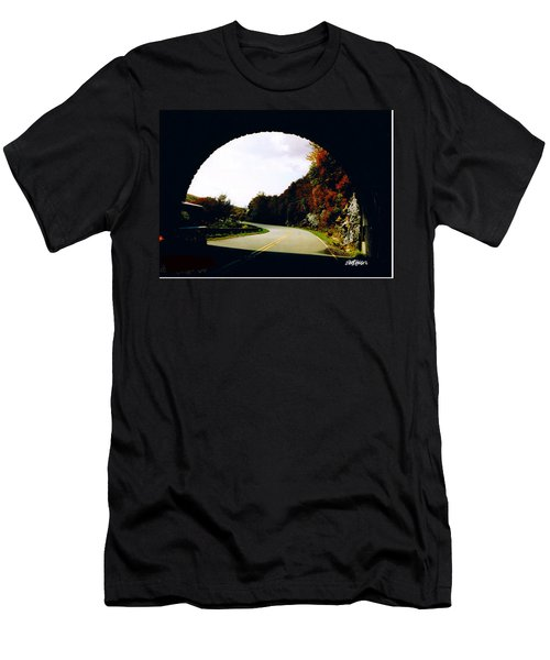 Tunnel Vision Men's T-Shirt (Slim Fit) by Seth Weaver