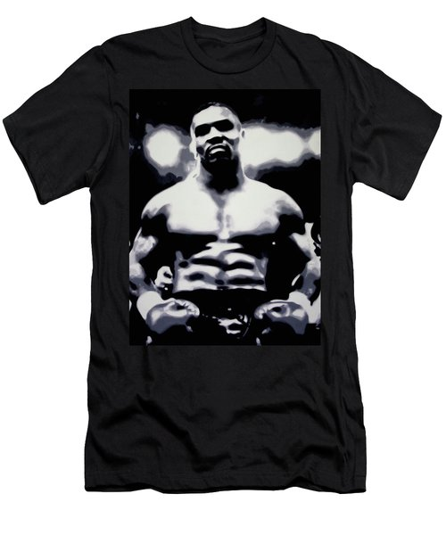 Tyson Men's T-Shirt (Slim Fit) by Luis Ludzska