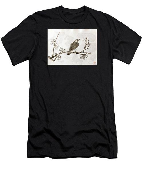 Ume Uguisu Men's T-Shirt (Athletic Fit)
