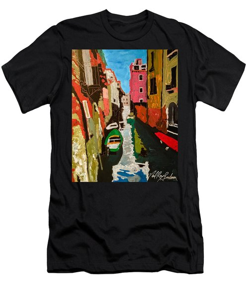 Unfinished Venice Italy  Men's T-Shirt (Athletic Fit)