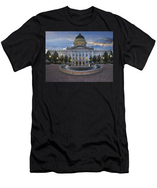 Utah State Capitol Building Men's T-Shirt (Athletic Fit)