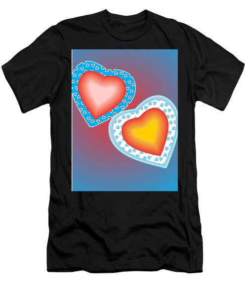 Valentine Lace Men's T-Shirt (Athletic Fit)
