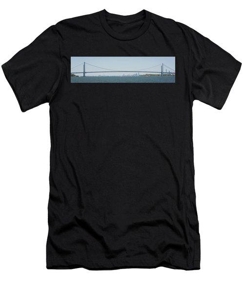 Verrazano Narrows Bridge Men's T-Shirt (Athletic Fit)