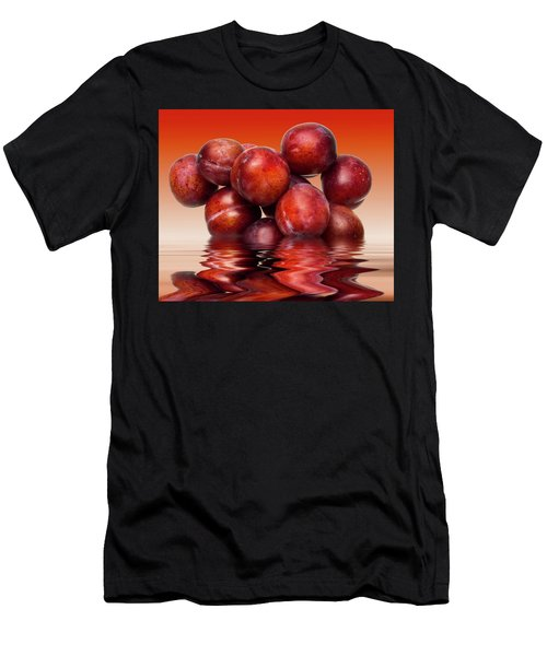 Victoria Plums Men's T-Shirt (Athletic Fit)