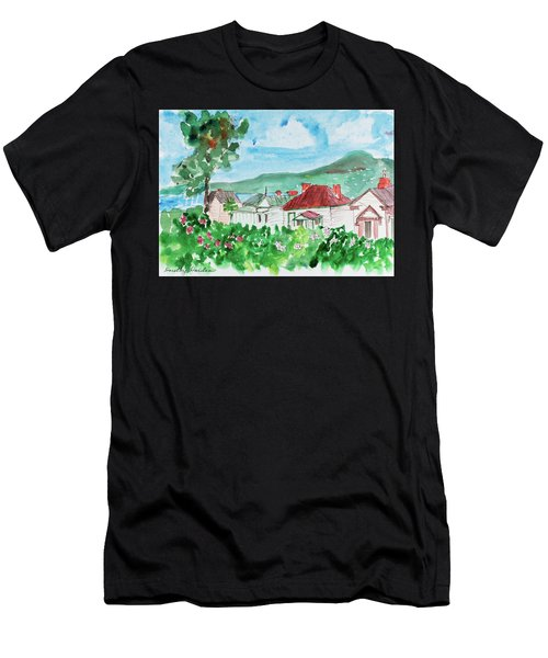 View From Battery Point Men's T-Shirt (Athletic Fit)