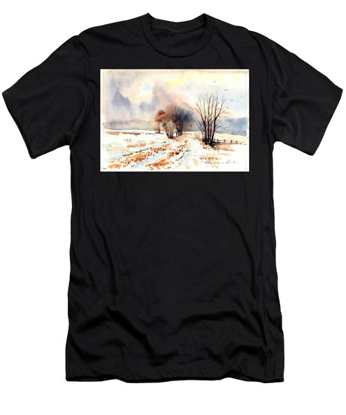 Village Scene Iv Men's T-Shirt (Athletic Fit)