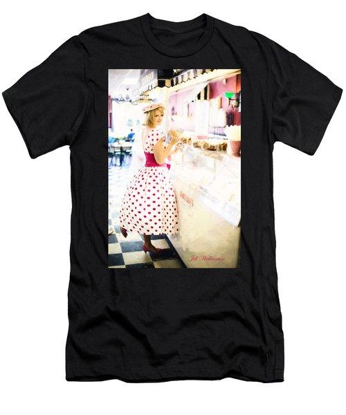 Vintage Val Ice Cream Parlor Men's T-Shirt (Athletic Fit)