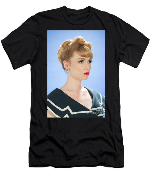 Vintage Woman Men's T-Shirt (Athletic Fit)