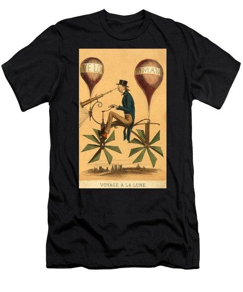 Voyage A La Lune Men's T-Shirt (Athletic Fit)