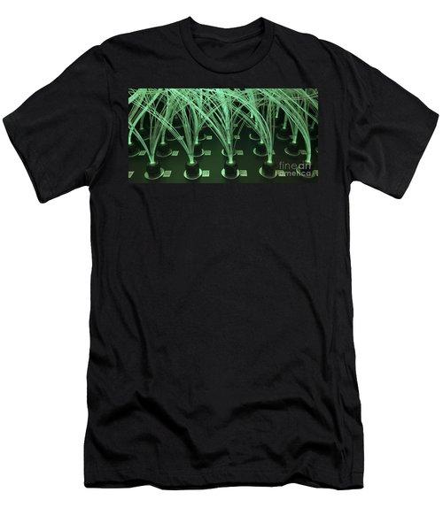 Vulcan Detector Module Optical Fibers Men's T-Shirt (Athletic Fit)