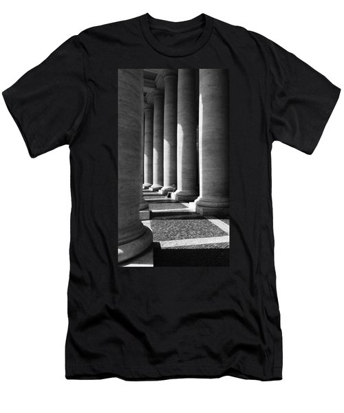 Men's T-Shirt (Athletic Fit) featuring the digital art Waiting At St Peters by Julian Perry