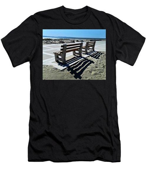 Waiting Men's T-Shirt (Slim Fit) by Joe  Palermo