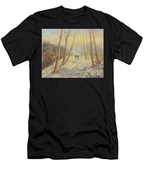 Walking In Sunshine Men's T-Shirt (Athletic Fit)